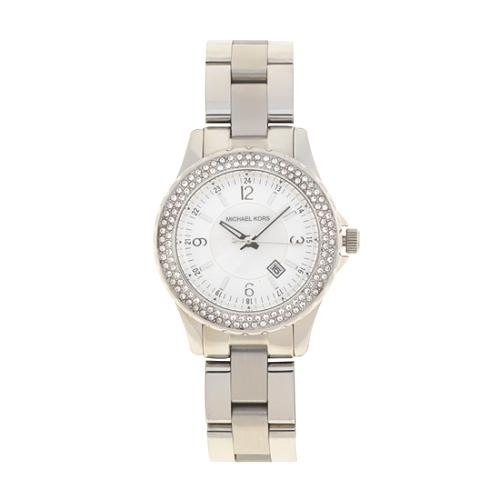 Michael Kors Small Madison Twin Row Crystal Watch