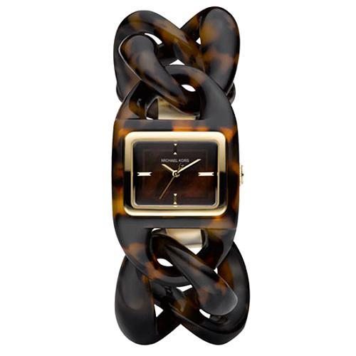 Michael Kors Tortoise Bracelet Watch