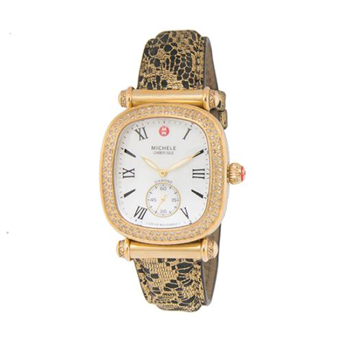 Michele Diamond Caber Isle Watch