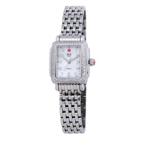 Michele Diamond Deco Mini Watch