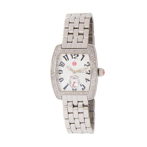 Michele Diamond Dial Urban Mini Watch