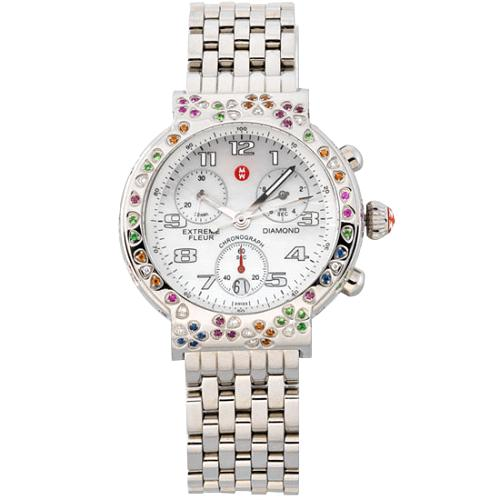 Michele Extreme Fluer Chronograph Watch