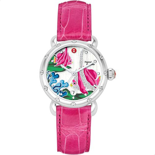 Michele Fish Tropical Paradise Watch