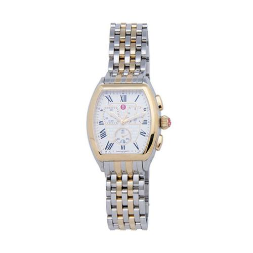 Michele Stainless Steel Releve Watch