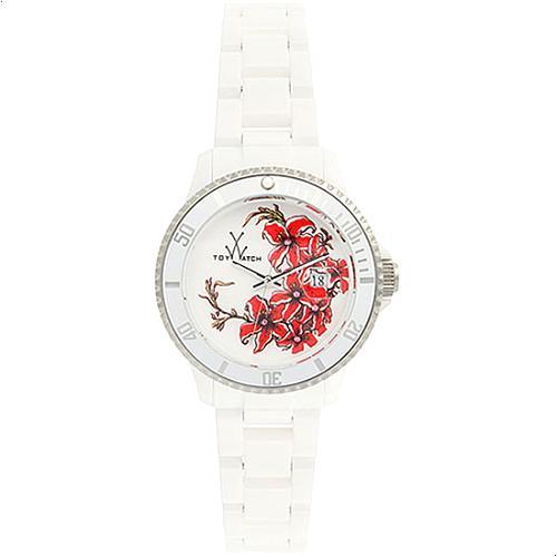 ToyWatch Azalea White Tattoo Watch