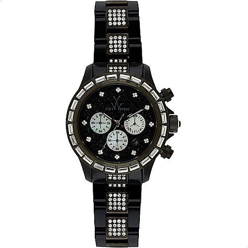 ToyWatch Clear Crystal Watch