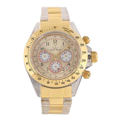 ToyWatch Gold Chrono Watch