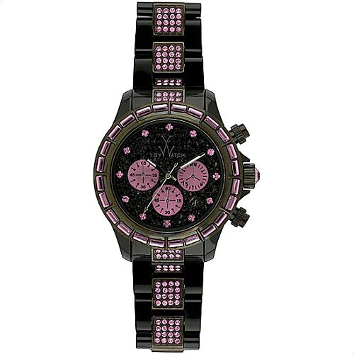 ToyWatch Pink Crystal Watch