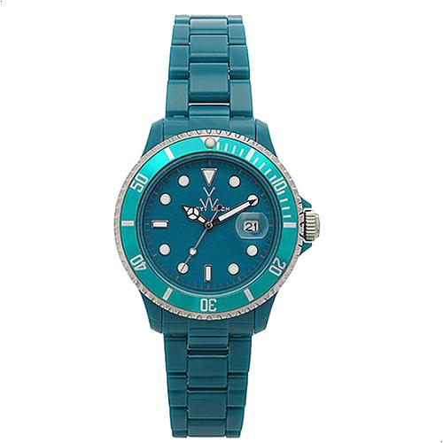 ToyWatch Plasteramic Teal Watch