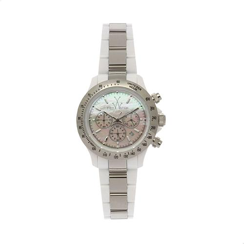 ToyWatch White Chronograph Watch