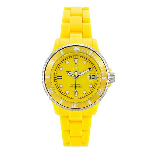 ToyWatch Yellow Mini Watch